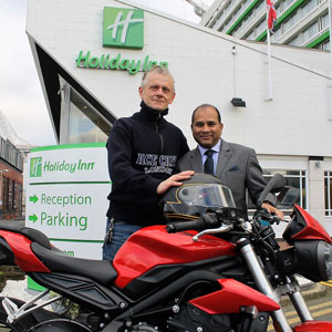 HOLIDAY INN LONDON WEMBLEY SIGNS ACE PARTNERSHIP WITH ICONIC MOTOR CAFE