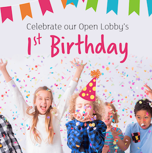 Holiday Inn Wembley's Open Lobby celebrates its 1st Birthday!