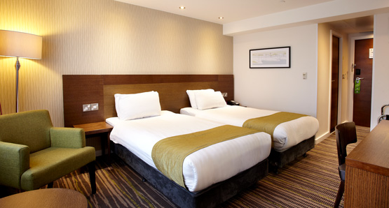 Recharge In Our Standard And Twin Wembley Hotel Bedrooms