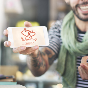 Learn 5 social media hacks for your wedding from our Wembley Hotel!